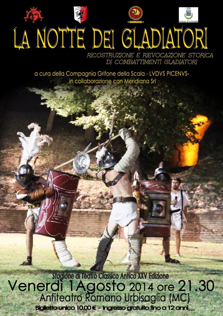 notte dei gladiatori